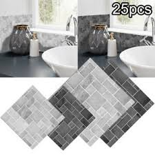 25pc 3d selbstklebend küche wand fliesen ziegel badezimmer