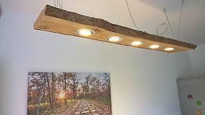 lärche led hängele 120cm 5 leds massivholz rustikal