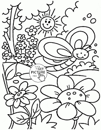 Surging Spring Colouring Page Coloring Pages Printable Save Nice For
