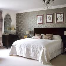 Bedroom Design Ideas Best Vintage Bedroomg Traditional Decorating Bedrooms With Patterned Wallpaper