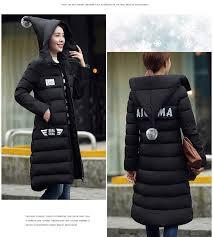 Plus Size Womens Cotton Filer Winter Coat Thick Pregnant