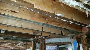Sistering Floor Joists With Plywood by Repair Detail For Notched Floor Joists Photo Structural