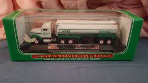 1998 MINIATURE HESS Tanker Truck - $5.99   PicClick Hess Truck Empty Boxes Toy Store Jackies 58 X 46 Hess Truck 1998 Creation Van Dune Buggy Motorcycle Tanker Truck Etsy Miniature Tanker Mint Ebay Amazoncom 2013 Tractor Toys Games Miniature Tanker First In A Series Mib Trucks 2018 Top Car Release 2019 20 Trucks Roll Out Every Winter Bring Joy To Collectors The 1499 Pclick Texaco Wings Of Mini 1991 Toy With Racer