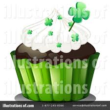 Royalty Free RF Cupcake Clipart Illustration by Graphics RF