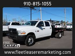 100 Used Dodge Truck 2012 Ram 3500 4WD Flatbed Flatbed 4WD Crew Cab At Fleet