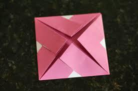 Origami Frame Step 5 Flip Your Paper