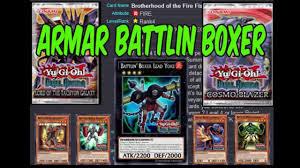 Battlin Boxer Deck 2015 by Armar Deck Battlin Boxer Yugioh Duel Arena Youtube