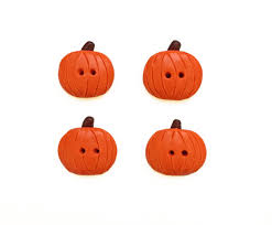 Pumpkin Patch Caledonia Il For Sale by Pumpkin Buttons Halloween Buttons Polymer Clay Buttons