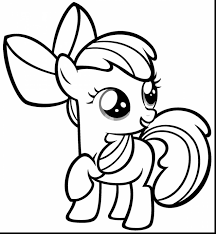 Incredible My Little Ponies Coloring Pages With Pony Printable And