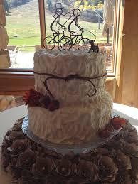 Rustic Vanilla Wedding Cake