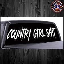 100 Redneck Truck Stickers Country Girl Shit RNRW11