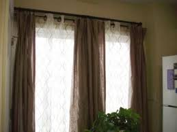 Front Door Side Window Curtain Panels by Best 25 Double Window Curtains Ideas On Pinterest Curtains For