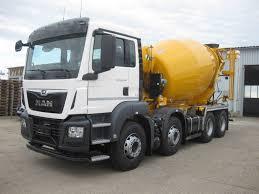 100 Concrete Truck Capacity MAN TGS 32420 BB Mix Stetter 8x4 Concrete Mixer Automarket