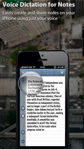 Voice Dictation for Notes Dictate your notes with your voice