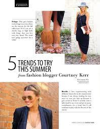 5 Trends To Try This Summer From Fashion Blogger Courtney Kerr