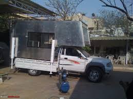 100 Pickup Truck Camper Building A Truck Camper Home Away From Home TeamBHP