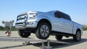 100 Ford Atlas Truck Concept Driving Into Transporter YouTube