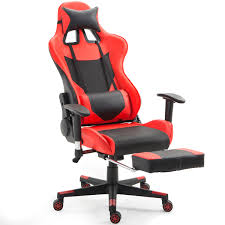 Giantex Ergonomic Gaming Chair High Back Racing Office Chair ...