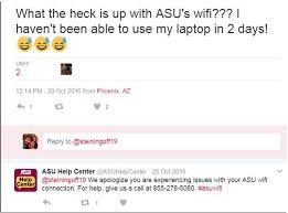Asu Help Desk Location by When Students Whine About Wifi On Twitter Campus Technology