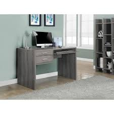 Monarch Specialties Corner Desk Brown by Monarch Specialties Corner Desk Dark Reclaimed Wood Extending