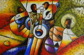 World Famous Paintings Picasso Abstract Painting Modern Blowing Instruments Hand Painted Oil On Canvas Wall