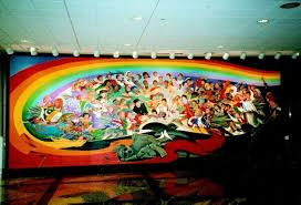 Denver International Airport Murals Meaning by People Are So Ignorant Nelson Mandela Is Dead But The Antichrist