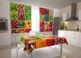küchen fotogardinen obst und gemüse collage 1
