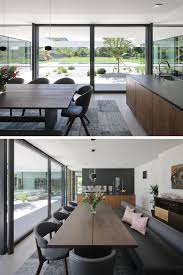 moderne wohninspiration für offene küche mit wohn und