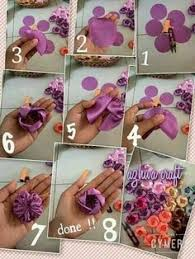 How To Make Beautiful Flowers Of Ribbon Bow Step By DIY Tutorial Instructions Do Diy Crafts I