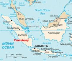 The Map Shows Current Border Where Indonesia Area Was Then Dutch