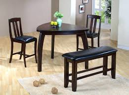 Triangle Dining Room Table Set Imposing Design Cozy Designs