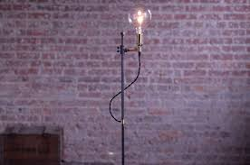 minimalist floor l industrial l edison bulb light hommum