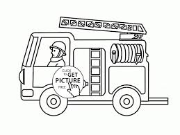 Fire Safety Coloring Pages Fresh Best Free Fire Truck Coloring Pages ...