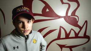 Bergmans Pumpkin Patch by Young Fan Puts Off Major Surgery To Follow Umd To Frozen Four