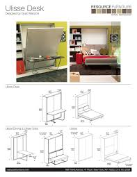 Bunk Bed Desk Combo Plans by Build Murphy Wall Bed Yourself Under 300 By Plans Design Youtube