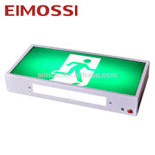 wall mounted emergency exit light source quality wall mounted