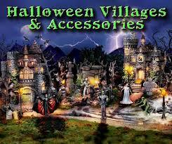 Dept 56 Halloween Village by Halloween Villages And Accessories