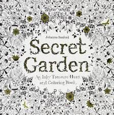 The Secret Garden Coloring Book For Adults By Johanna Basford