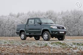100 Pick Up Truck Comparison UAZ 2363 Up AMC Made In Russia