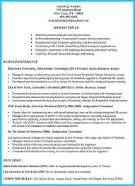 Nyc Doe Sesis Help Desk by Create Your Astonishing Business Analyst Resume And Gain The Position