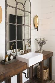 Bathroom Industrial Farmhouse Bathroom Reveal Cherished Bliss