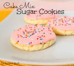 Cake box sugar cookie recipes Food next recipes