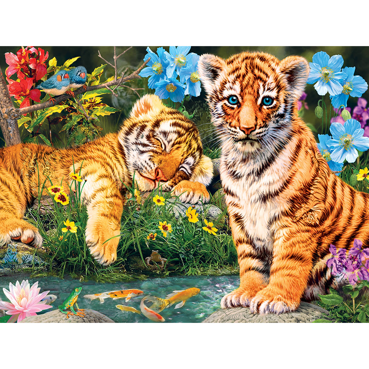 Masterpieces Hidden Images Glow in The Dark - A Watchful Eye 550pc Puzzle