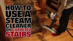 X5 Steam Mop On Laminate Floors by How To Steam Clean Carpeted Stairs Dupray Steam Cleaners Youtube