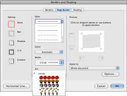 Formatting Page Background And Borders In Word 2011 For Mac