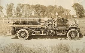 100 First Fire Truck Historic Apparatus Brookfield Volunteer Company