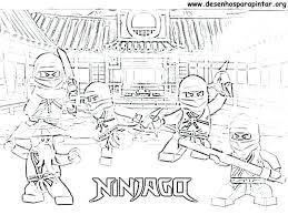 Ninjago Colouring Pages Printable Free Coloring 2015