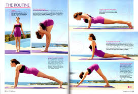 True Power Yoga And Mark Blanchard In Health Magazine