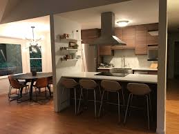 Ikea Kitchen Cabinet Doors Canada by See How The New Walnut Voxtorp Doors Look In A Real Ikea Kitchen