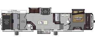 2016 5th Wheel Toy Hauler Floor Plans by Keystone Raptor Rvs For Sale Camping World Rv Sales